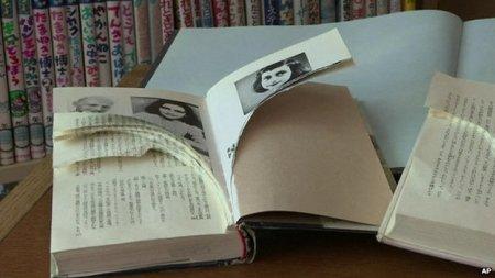 Ødelæggelse af Anne Frank-bøger på bibliotak i Japan