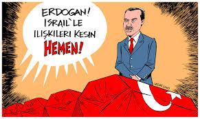 Erdogans afskårne bånd til Israel
