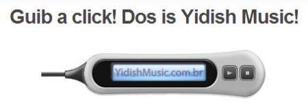 Gib a click - dos is jiddish musik