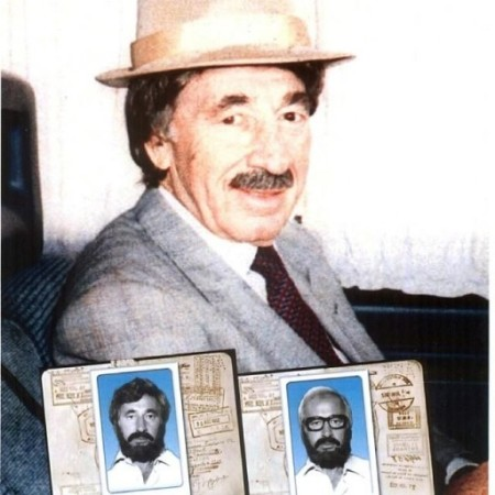 Peres - the disguise I wore in meetings with King Hussein of Jordan
