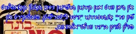 Polsk-jiddishe journaler snart på WWW (kIO)