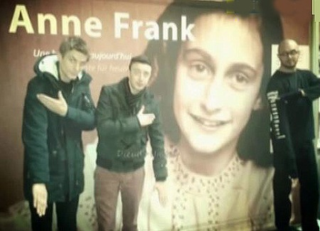 Quenelle #1 - Anne Frank