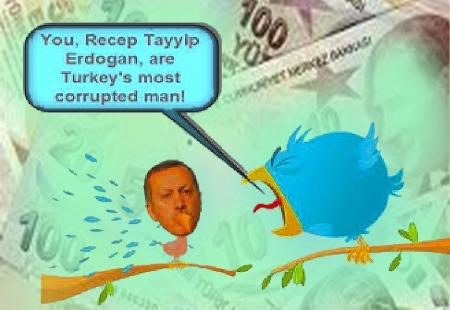 Recep Tayyip Erdogan - You are Turkeys most corrupted man