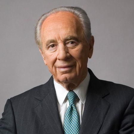 Shimon Peres portrait