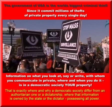 Stop mass surveillance poster #1