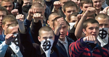 Ukraine-Nationalists - Pravy Sektor