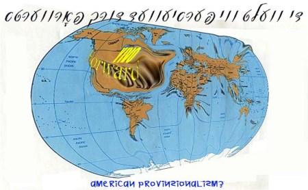 Verdens-kortet set fra FORWARDS redaktions-kontor copy